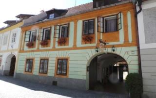 osvětlení penzion Český Krumlov